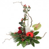 Christmas tall arrangement